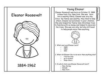 Eleanor Roosevelt Tabbed Flip Book