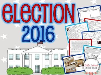 Presidential Election 2016 BUNDLE