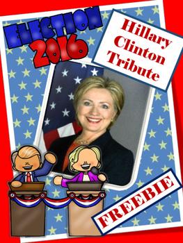 ELECTION 2016 - Hillary Clinton  Tribute  -Women's Studies