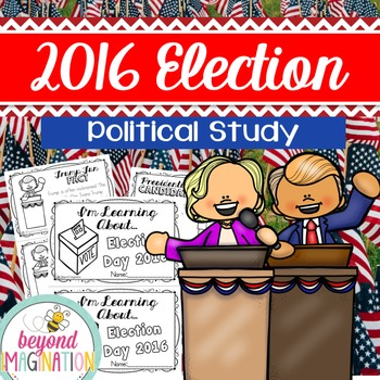 Election 2016 Booklet | 156 Pages for Differentiated Learn