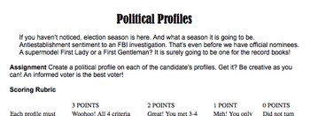Election 2016 Profile Project