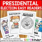 Election 2016 - Readers for Kindergarten, Preschool, and First Grade