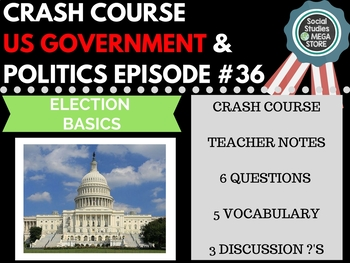 Election Basics: Crash Course Government and Politics #36
