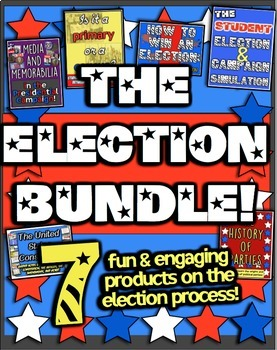 Presidential Election Bundle! 7 Resources for Elections, P