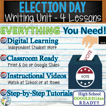 Election Day Writing BUNDLE! - Argumentative, Persuasive,