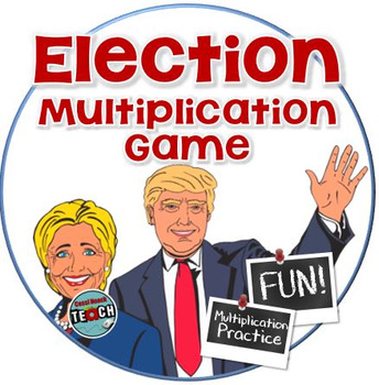 Election Day Activity ❗  Election Multiplication Game