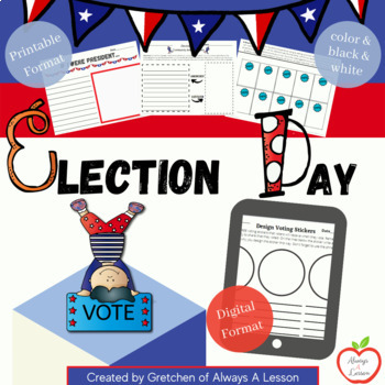 Election Day Activity Pack