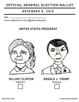 Election Day Ballot