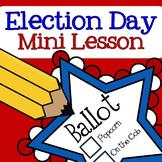 FREE Election Day Mini Lesson