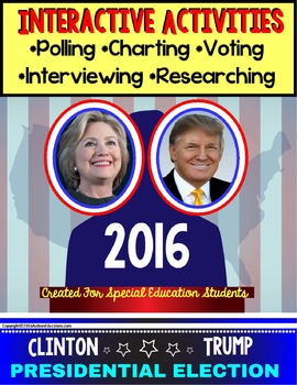 Presidential Election 2016 Activities - For Special Educat