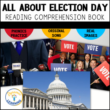 Election 2016 Interactive Vocabulary Book and Song with Co