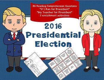 Election - Reading Comprehension - social studies activiti