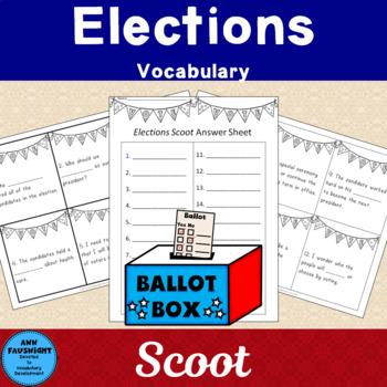 Election Vocabulary: Scoot