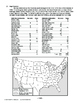 Election of 1896, AMERICAN HISTORY LESSON 114 of 150 Map E