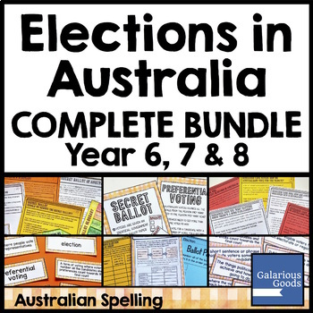 Elections in Australia Bundle (Democracy and Me)