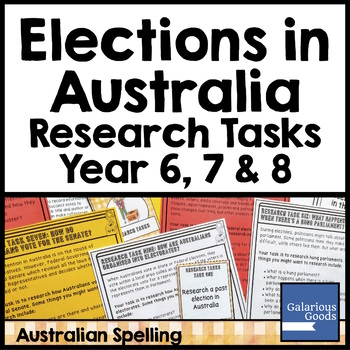 Elections in Australia - Research Tasks (Democracy and Me)