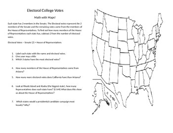 Electoral College Math and Maps