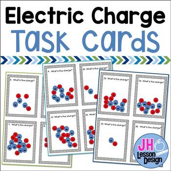 Electric Charge Task Cards