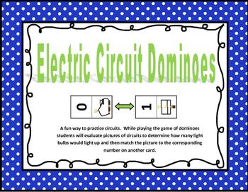 Electric Circuit Dominoes Game
