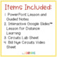 Electric Circuits PowerPoint Lesson, Guided Notes, Lab, an