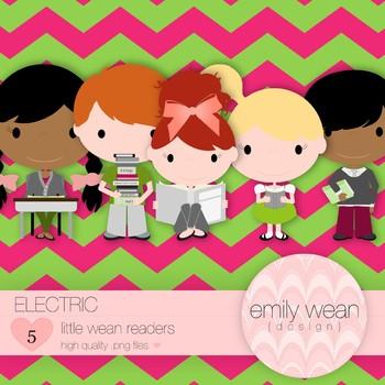 Electric - Little Readers Clip Art