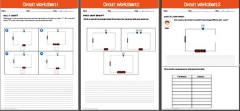 Electric circuit worksheets