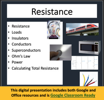 Electrical Resistance - Electricity PowerPoint Lesson and