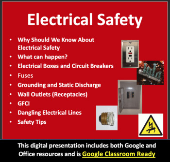 Electrical Safety in the Home -Electricity PowerPoint Less
