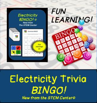 Electricity Bingo Game