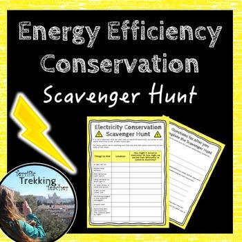 Electricity Conservation Scavenger Hunt