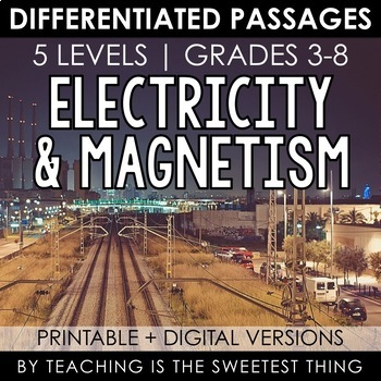 Electricity & Magnetism: Passages