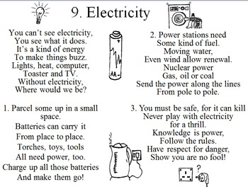Electricity - a song about energy