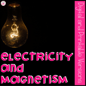 Electricity and Magnetism Interactive Lapbook