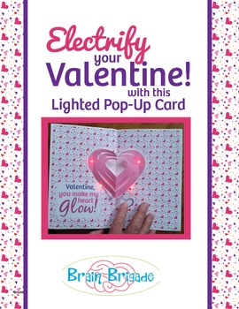 Easy! Electrify Your Valentine! Make your own LED Pop Up C