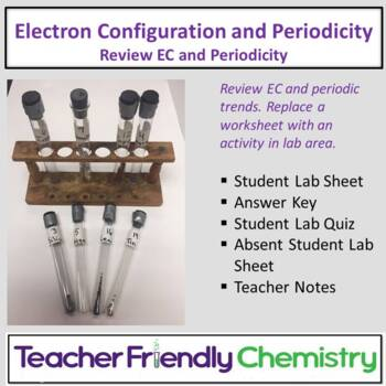 Chemistry Lab: Electron Configuration and Periodicity