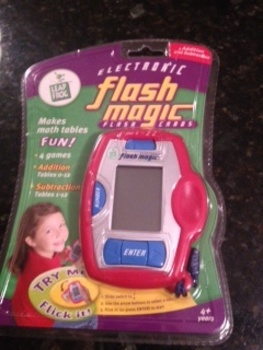 Electronic Flash Magic Flash Cards