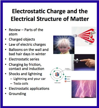 Electrostatic Charge and the Electrical Structure of Matte