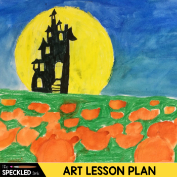 Elementary Art Lesson Plans - Pumpkin Patch Perspective -