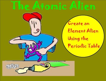Element Alien Creation – Using the Periodic Table to Creat