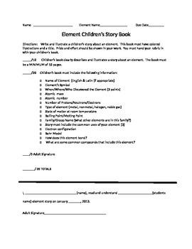 Element Children Story