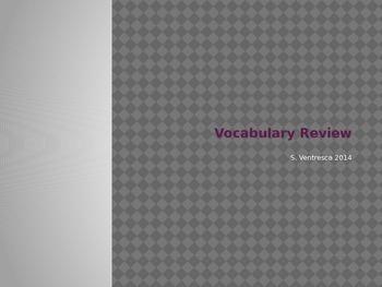 Element, Compound Mixture Vocab Opener 2