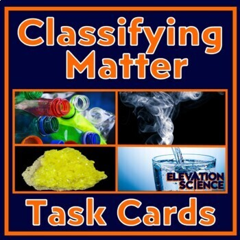 Element, Compound or Mixture? Critical Thinking Exercises