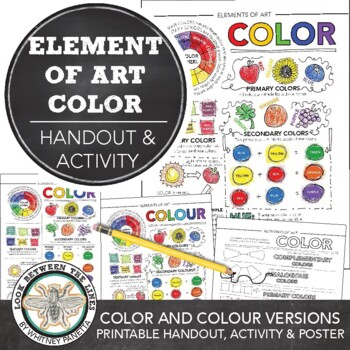 Element of Art (Color) Worksheet