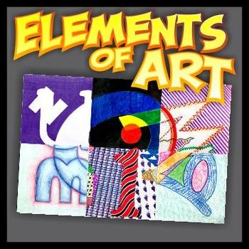 Elements of Art - Illustrative Composition