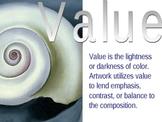 Element of Art - Value PowerPoint