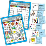 Elements of Art Elementary Visual Art BINGO Education Reso