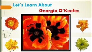 Elementary Art Lesson - Georgia O'Keefe