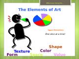 Elementary Art Lesson: Elements of Art for Upper Elementar