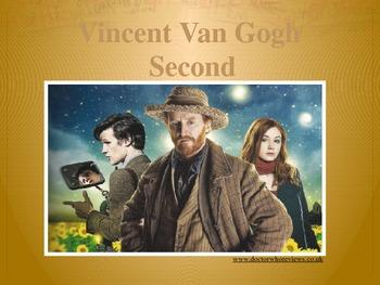 Elementary Art Lesson 2nd: Van Gogh Impressionism Blossoms