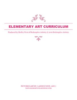 Elementary Art curriculum - using multi media